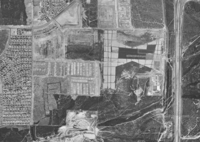 Old Hourglass Field Aerial View