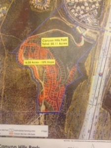 Canyon Hills Resource Park Map