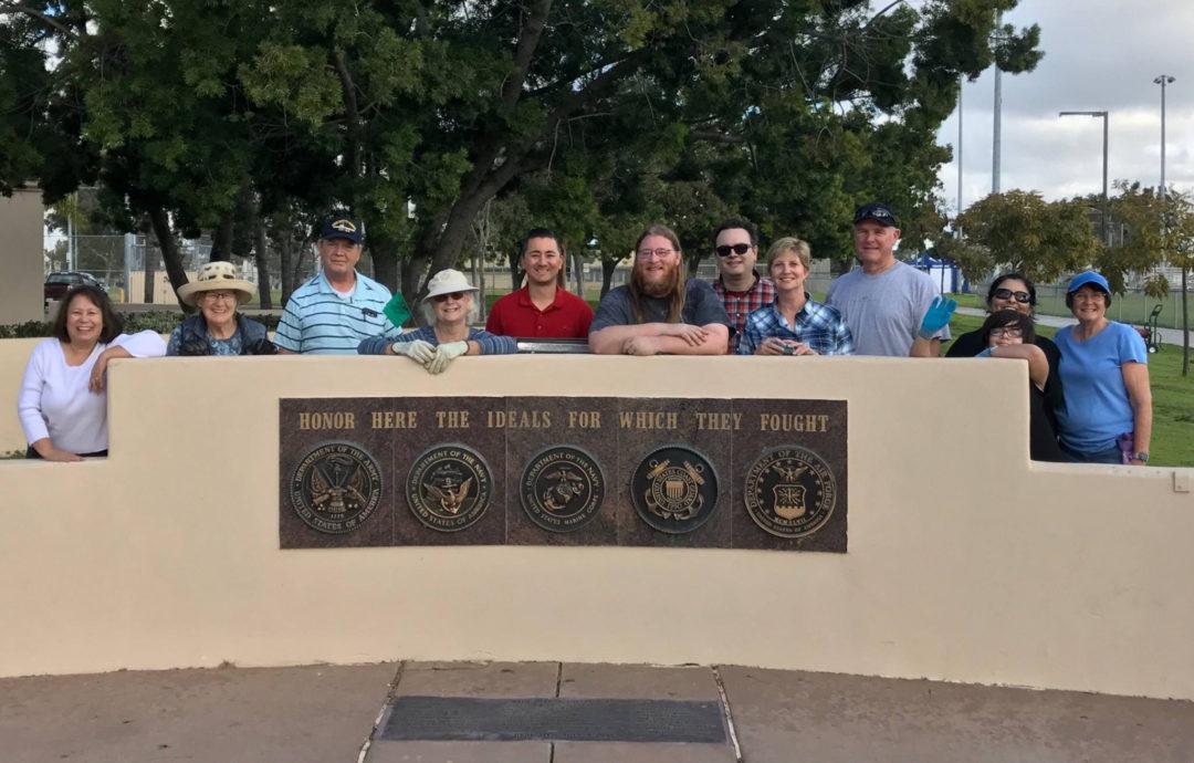 Veterans Memorial & Flagpole
